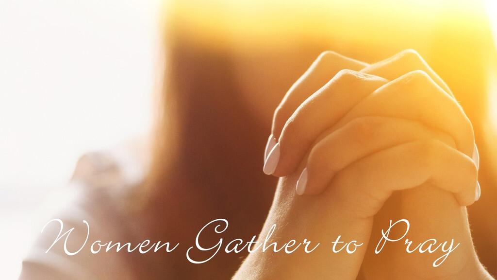Women Gather to Pray Zoom Meeting